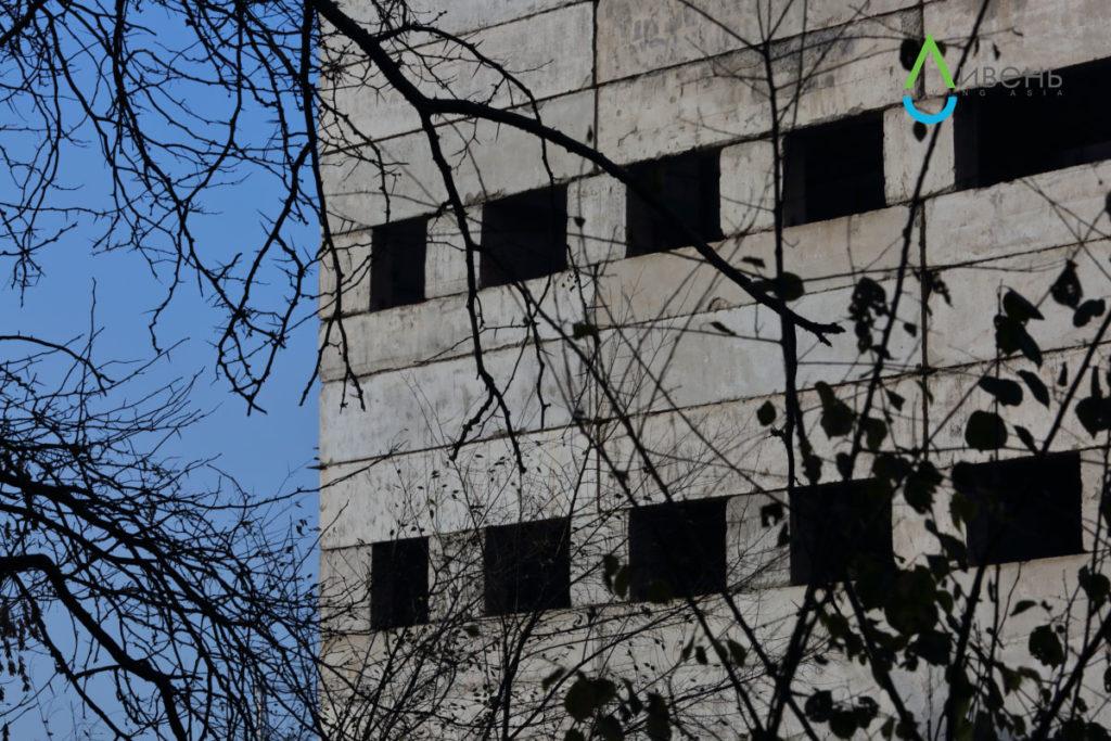 Самая старая территория Ботанического сада – на улице Горького – расположена чуть ли не в центре Бишкека. Вокруг стоят жилые дома и строятся многоэтажки.