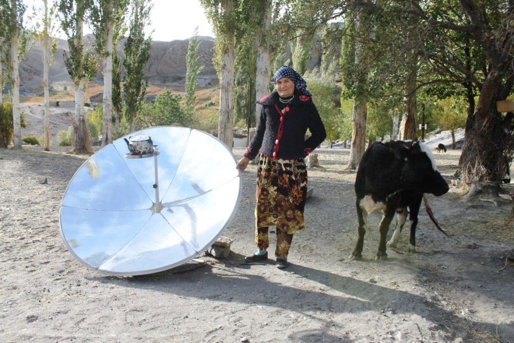 солнечная печь