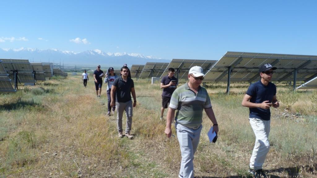 Экскурсия на солнечные установки
