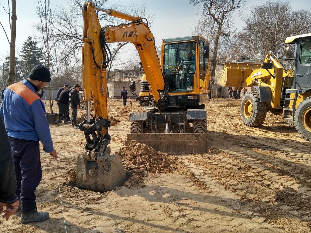 Ташкентцы борются против захвата дворов под застройку