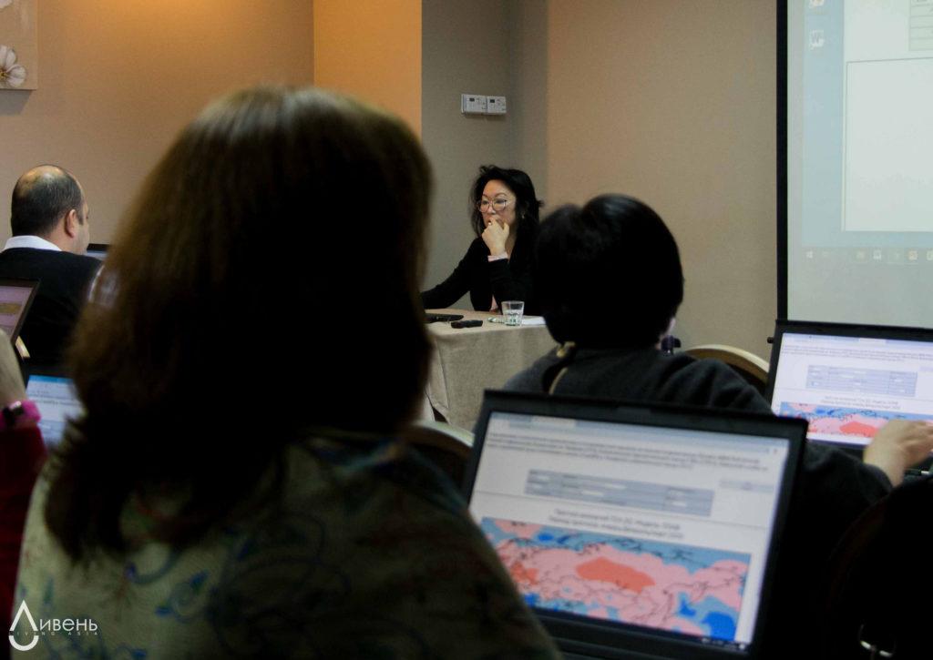 На обучающем курсе 20-24 января 2020 года в Алматы для специалистов гидрометеорологических служб Центральной Азии.