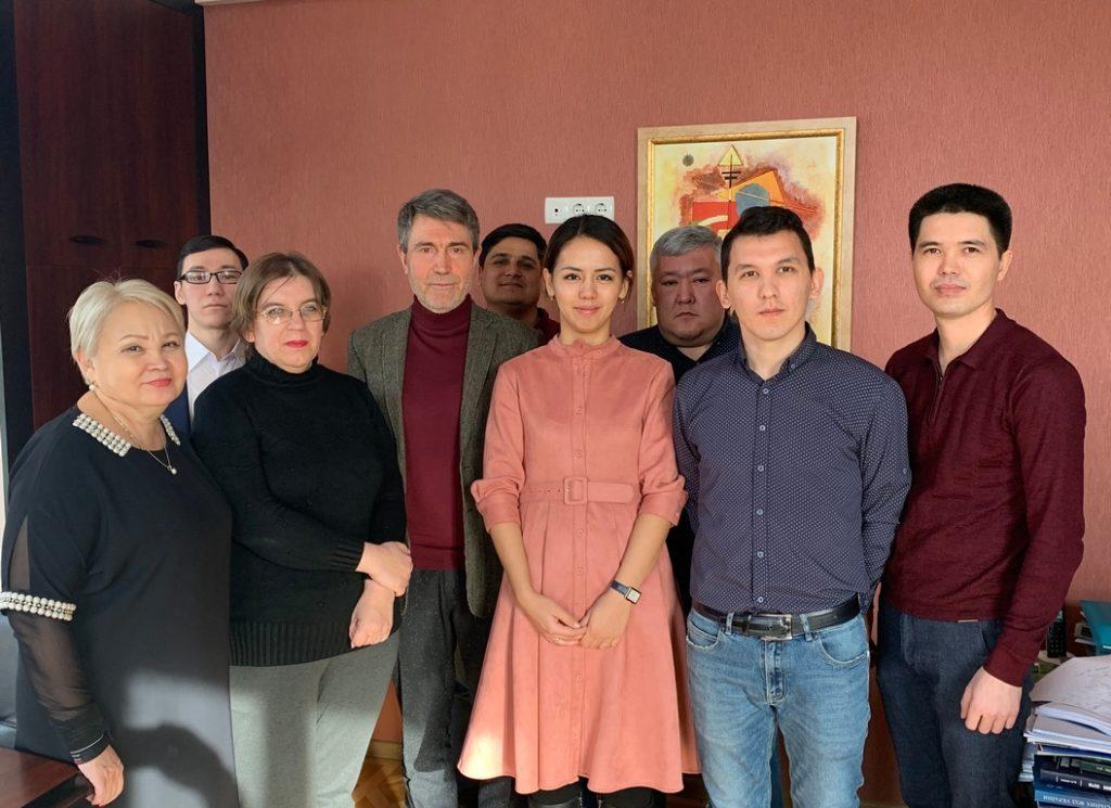 Ознакомительный визит в Украинский Гидрометеорологический институт