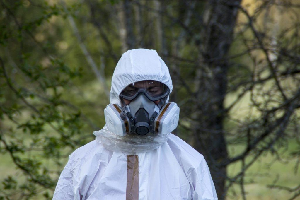 Защитный костюм от радиации