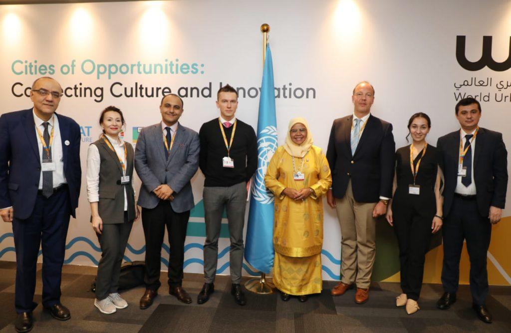 Представители СНГ, встреча с исполнительным директором ООН-Хабитат Д.М.Мохд Шариф