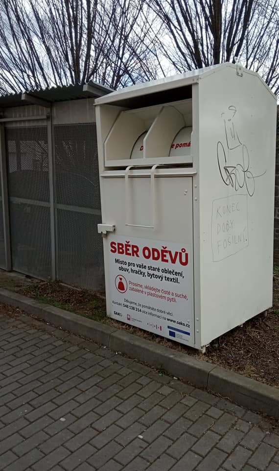 Контейнеры мусора в Чехии