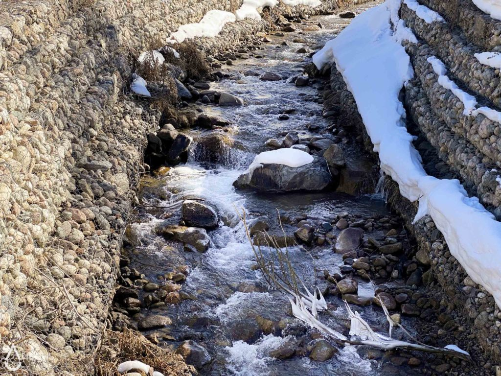 Информация о накоплении снежного покрова в горах