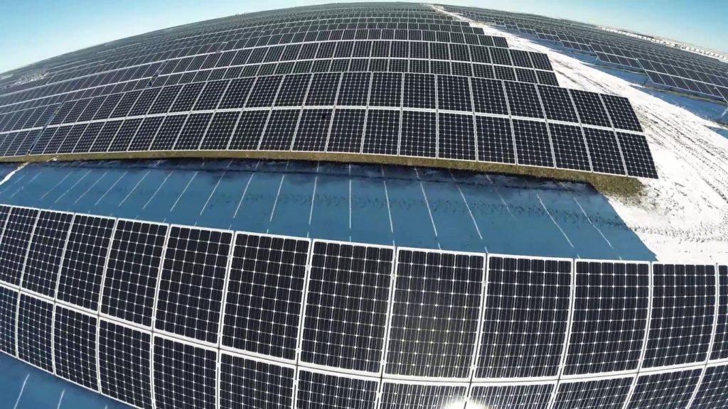 Солнечная электростанция Бурное Солар-2