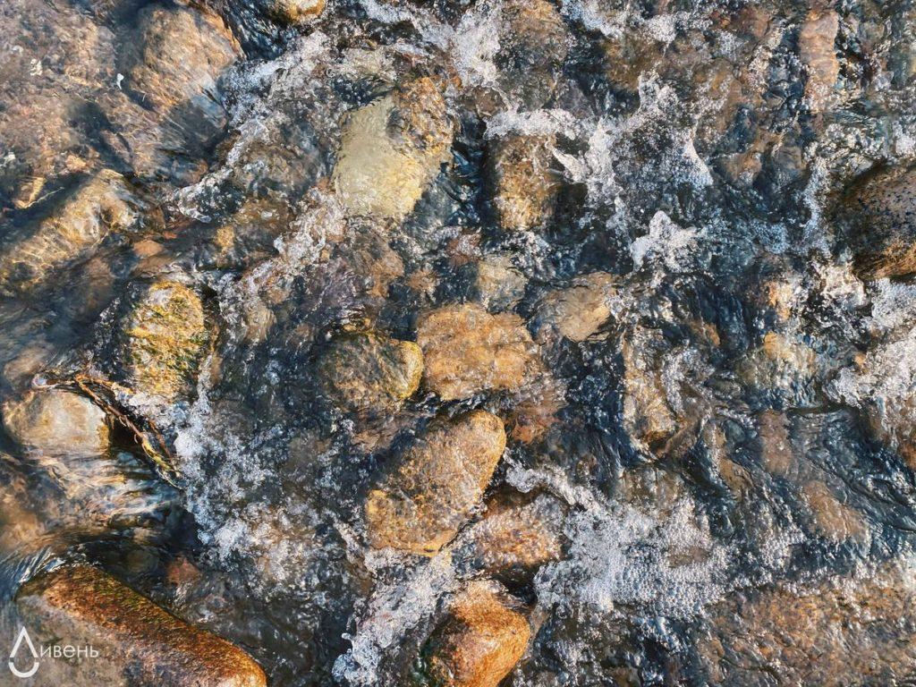 Река,камни,вода