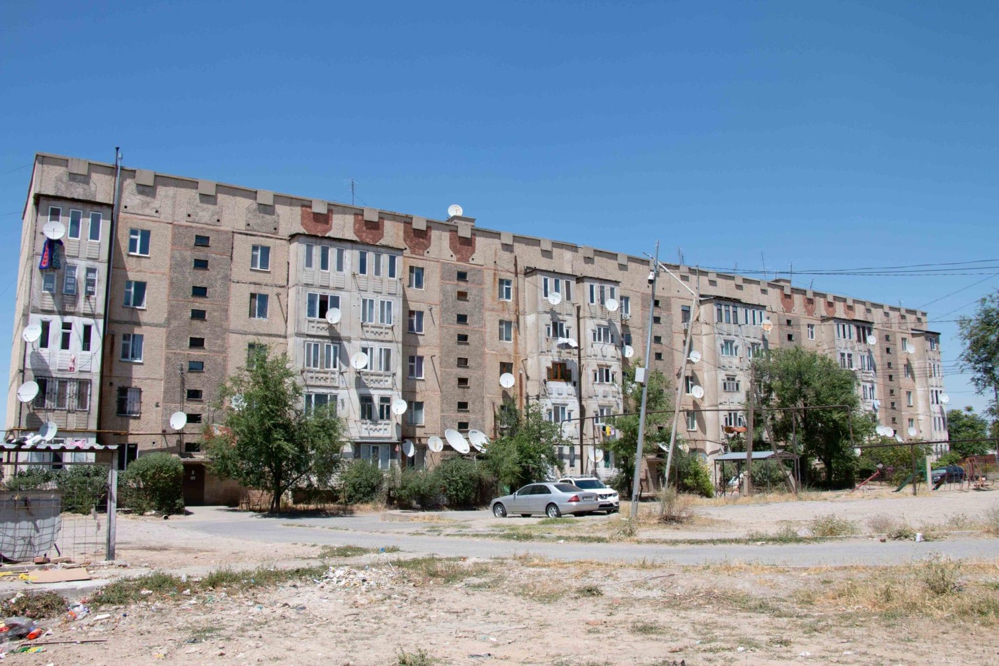 Поселок Аксукент