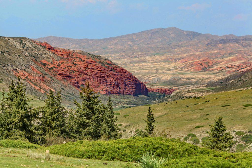 Пейзаж Кыргызстана