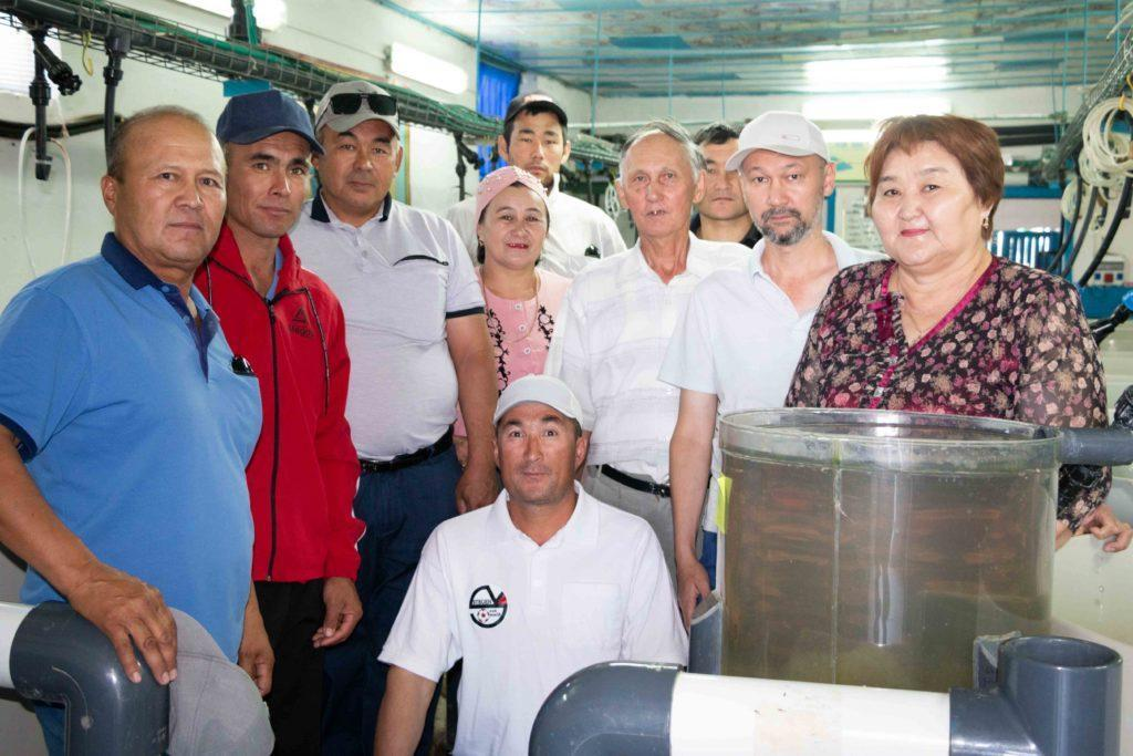 Специалисты в области рыбного хозяйства