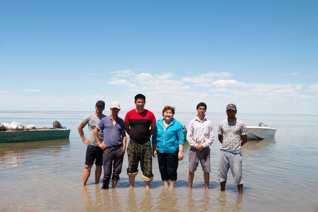 Аральские рыбаки