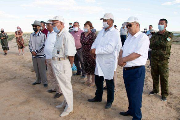 Открытие инкубационного цеха в ауле Акшатау